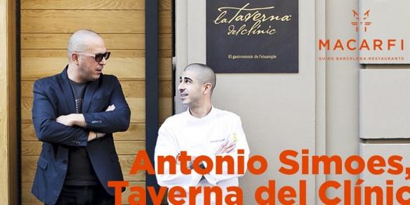 Antonio Simoes en la guía Macarfi